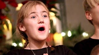 Christmas Choir Solo while Battling a Sore Throat!