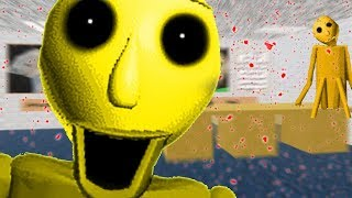 WE FOUND GOLDEN BALDI?! - Five Nights at Baldi's Basics in Education and Learning