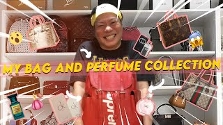 KATAS NG HIRAP AT PAGOD, MY BAGS AND PERFUME COLLECTION | DIVINE TETAY