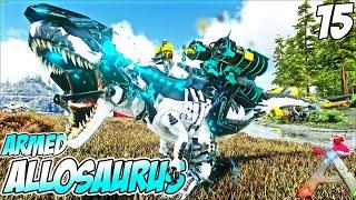 Myth Armed Allosaurus Siap Perang !! - ARK Valguero Indonesia #15