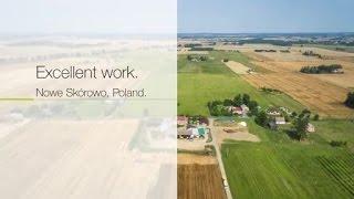 Excellent work. Nowe Skórowo, Poland. / 2015 / en