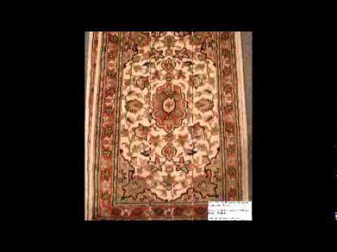 Pakistan Hand Knotted Carpets Silk And Wool Youtube