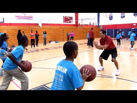 Breakthrough Miami Basketball Clinic at Miami Country Day School