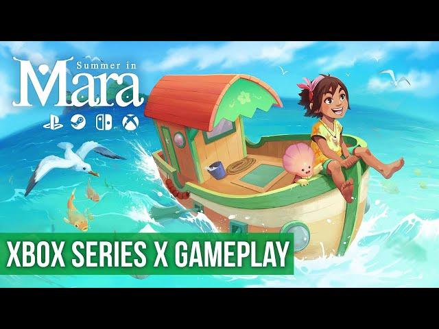 Summer in Mara - Gameplay (Xbox Series X) HD 60FPS