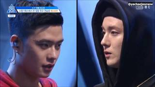 [ENG SUB] PRODUCE101 S2 | S.How trainees(OFFROAD) Level Test cut