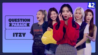 Download lagu (CC) This ITZY interview is so OFF THE WALLS, 13min will burn up like🔥 | Question Parade w/ ITZY