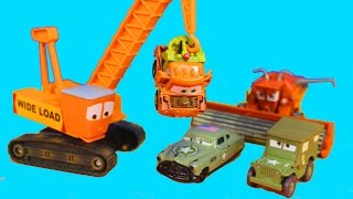 Disney Pixar Cars Army Car Doc Tells Lightning McQueen Cars War 2 Story attack on Mater