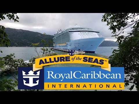 Allure of the Seas Full Ship Tour Royal Caribbean