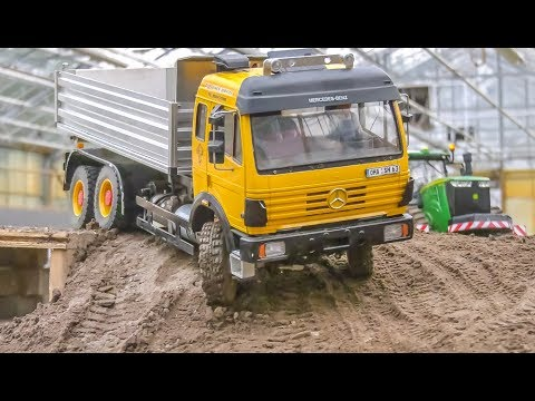 Incredible RC Machines! Trucks! Tractors! Train! Big Action!