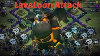 LavaLoon Attack (Lava Hound & Balloon) - TH9 Attack Strategy | Clash of Clans
