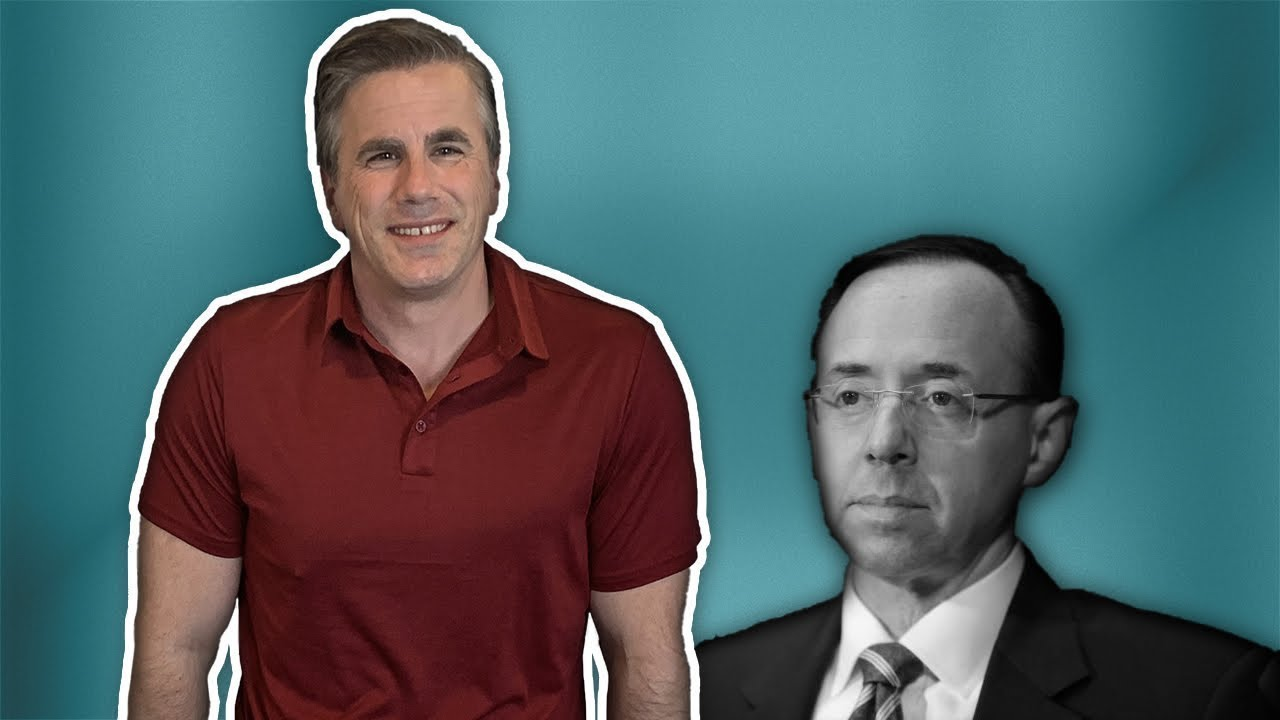 Judicial Watch In Case You Missed It--Was Rod Rosenstein Getting Special Treatment over Targeting of