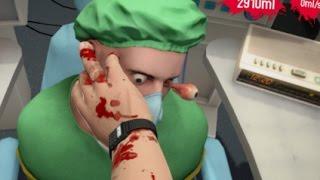 【バカゲー】目玉が飛び出るほどの大手術!【Surgeon Simulator】