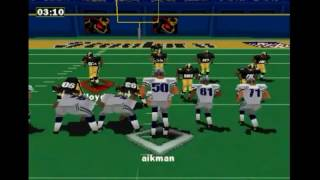 NFL GAMEDAY 98/ STEELERS vs COWBOYS (THROWBACK THURS) [PS1] [HD]
