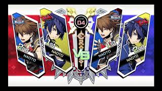 The Battle of the Naotos (Shirogane and Kurogane) times 2. The bad ...
