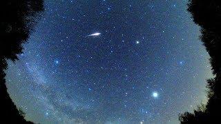 2018年4月こと座流星群極大日前日の火球