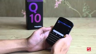Q10 - Đánh giá chi tiết BlackBerry Q10 - CellphoneS