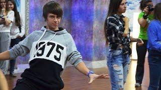 С кем танцевали Даня и Кристи ?