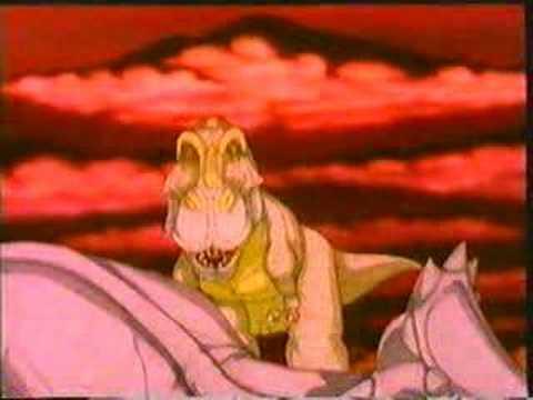 Dinosaur Animation 2: Tyrannosaurus vs Triceratops