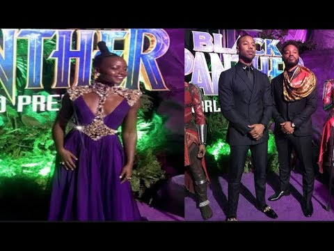 The Black Panther movie premiere has social media going crazy!