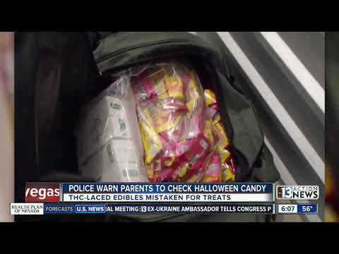 Kevin Campbell - Police Warn Parents About THC Laced Candy This Halloween