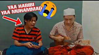 MERINDINGG !!! SHOLALLAHU 'ALA MUHAMMAD - COVER UKULELE KANG NDUYING FT MOCIL SIANIDA