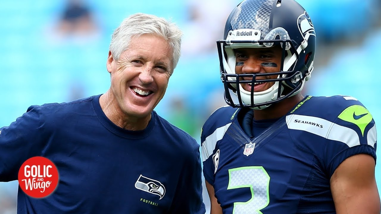 Russell Wilson becomes the highest-paid player after new deal with Seahawks | Golic and Wingo