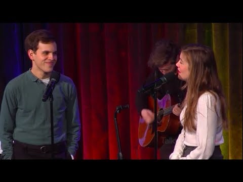 Taylor Trensch the new Evan Hansen and Laura Dreyfuss perform