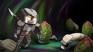 Minecraft - ALIEN VS PREDATOR SURVIVAL CHALLENGE! (ALIEN MOVIE)