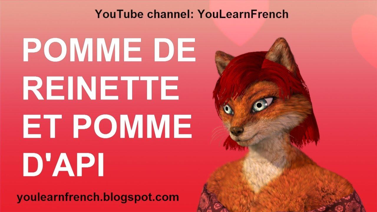 Pomme De Reinette Et Pomme D Api Comptines Chansons Pour Enfants Paroles English French Kids Songs