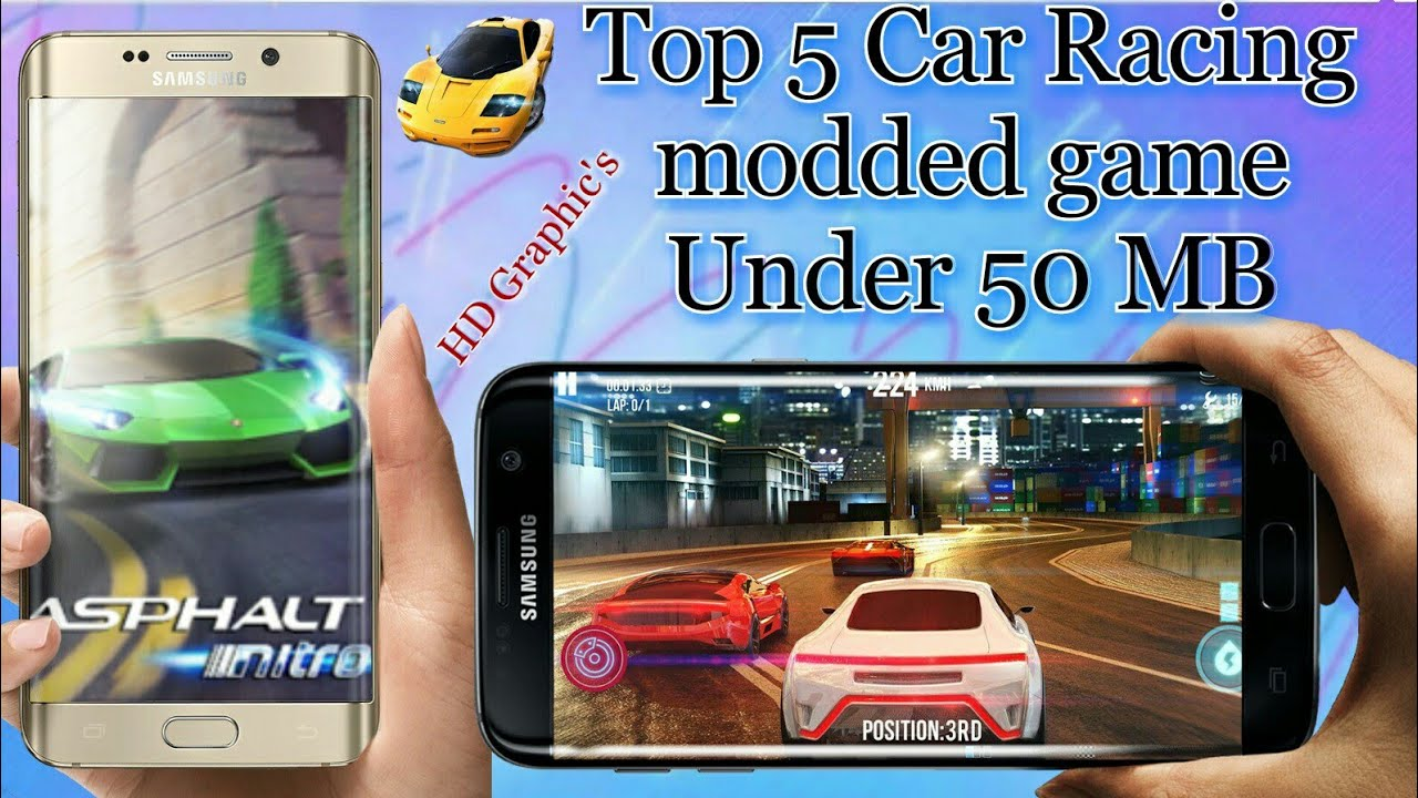 Top 5 Offline Car Racing Modded Game On Android Under