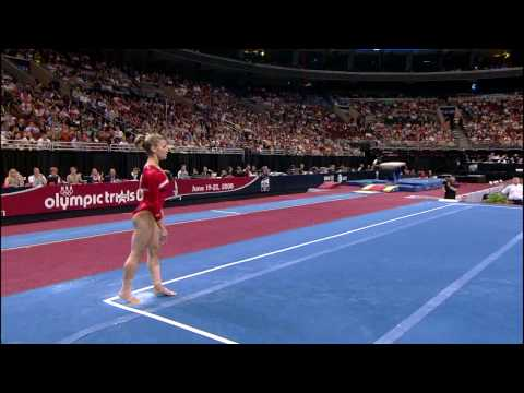 Alicia Sacramone - Floor Exercise - 2008 Olympic Trials - Day 1
