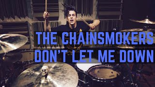 Download lagu The Chainsmokers - Don't Let Me Down (Illenium Remix) | Matt McGuire Drum Cover