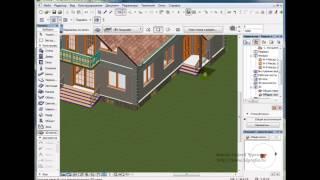 Инструмент 3D сетка в ArchiCAD. Продолжение