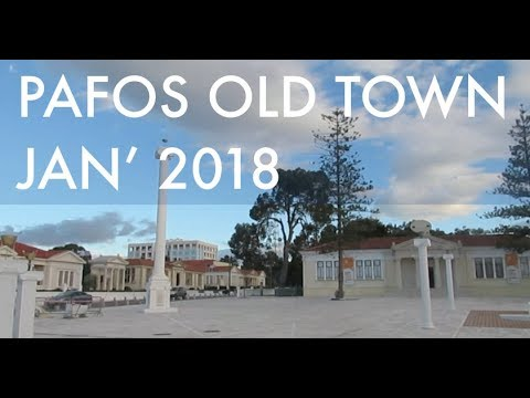 Pafos Old Town | January 2018