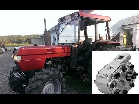 Case 895 Hydraulic pump change,