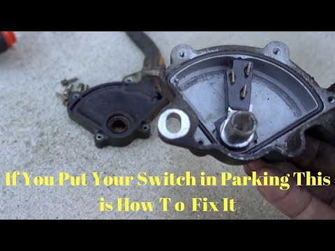#BulletSolano #Accord P0706 How To Fix Your Transmission Range Sensor 1998 to 2002 Honda Accord