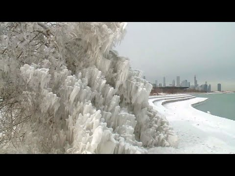 As Extreme Cold Grips The City, Some Chicagoans Find Beauty In Nature