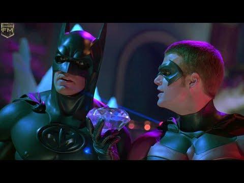 Batman and Robin on ice | Batman & Robin