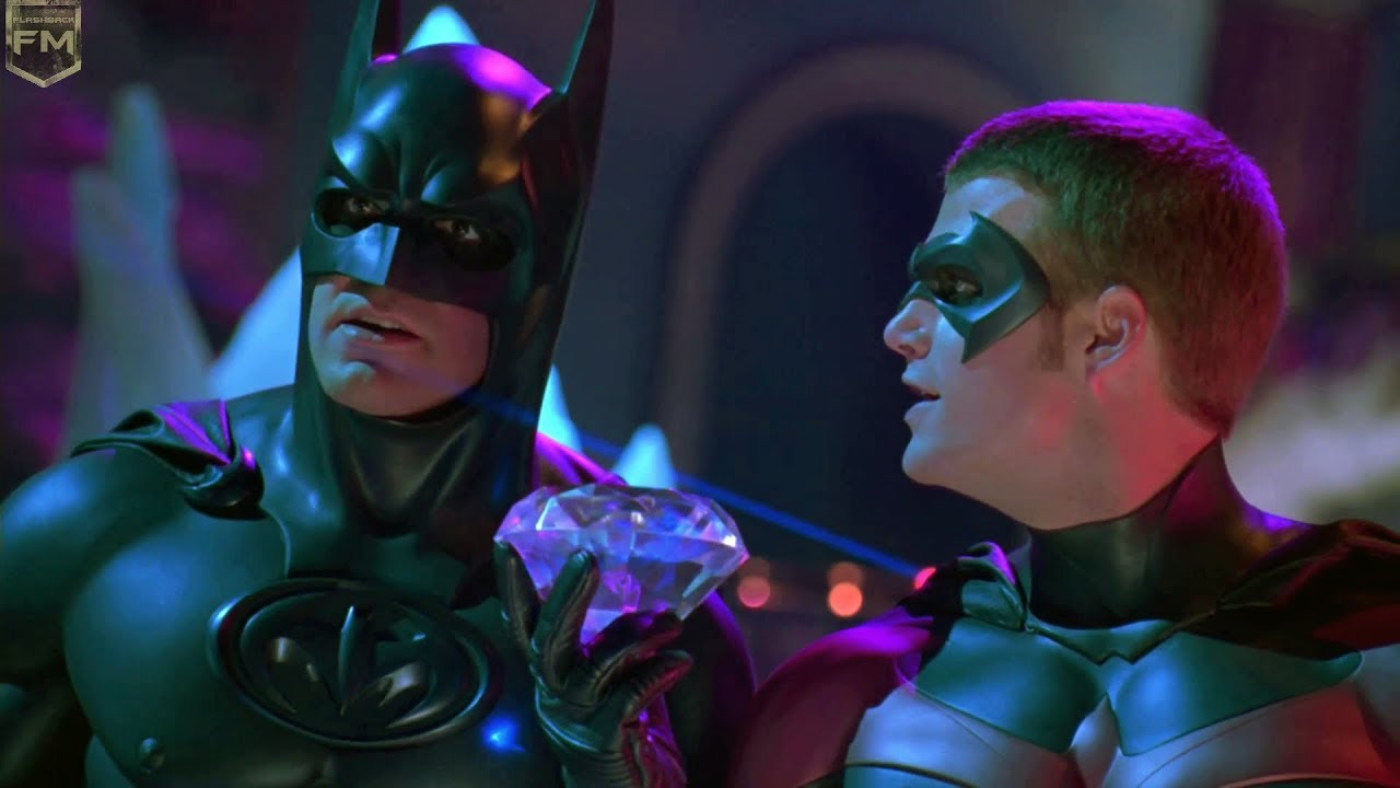 Batman and Robin on ice | Batman & Robin - YouTube