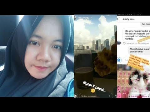 Kocak Banget! Langsung ke Singapura Dari Mudik, Asisten Nagita Slavina Bawa Makanan Ndeso Ini