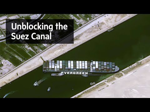 Efforts ramping up to unblock the Suez Canal