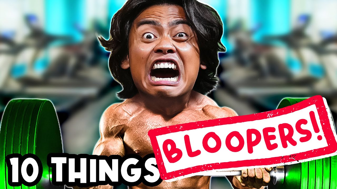 DELETED FOOTAGE - 10 THINGS NOT TO DO IN A GYM 🤯😭