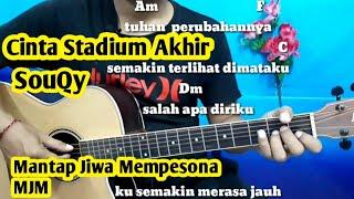 Download lagu Kunci Gitar Cinta Stadium Akhir | SouQy ( Gampang Dan Mudah By Darmawan Gitar)