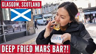 First Time In Scotland | Trying Battered Mars Bar & Scottish Curry | Hostel Travel Series Part 2