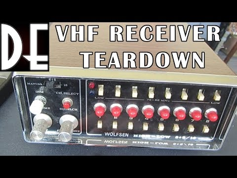 VHF Radio Receiver teardown