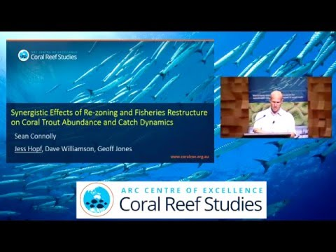 Sean Connolly - Synergistic effects of re-zoning and fisheries restructure on long-term coral [...]