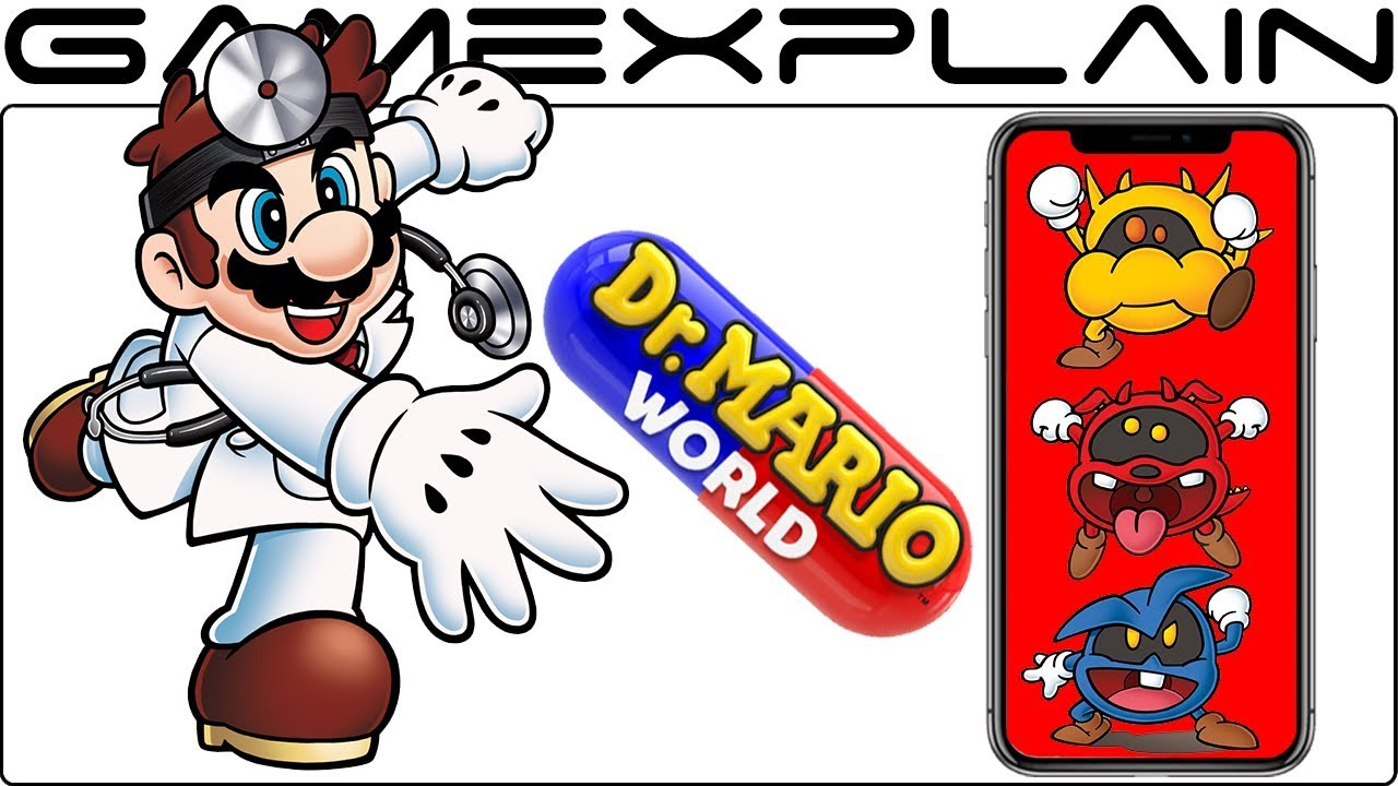 Dr  Mario World Coming to iOS & Android This Summer! The Doctor is In -  Your Phone