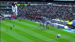 México Vs. New Zealand (5-1) 2014 FIFA World Cup Qualification - Intercontinental Play-Off (1 Leg)