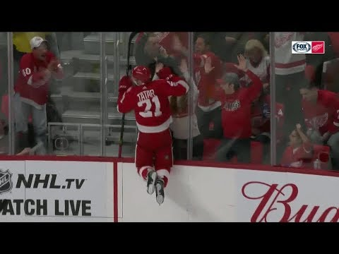 Tomas Tatar Goals - 2017-2018 (Detroit Red Wings)