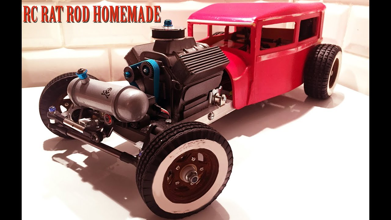 rc car rat rod rwd homemade 1 10 part 3 5 v8 engine. Black Bedroom Furniture Sets. Home Design Ideas